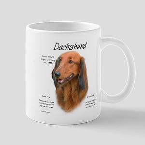 Longhair Dachshund 11 oz Ceramic Mug