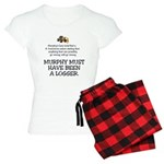 Murphy's Law Women's Light Pajamas