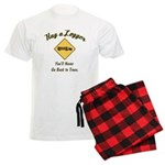 Hug a Logger Men's Light Pajamas