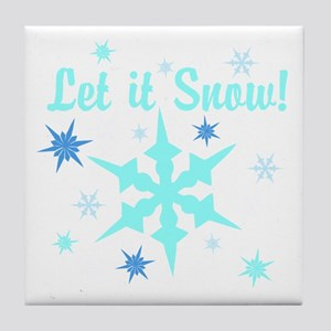 Let It Snow! Tile Coaster
