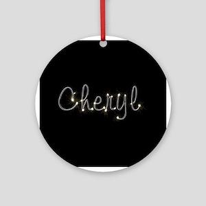 Cheryl Spark Ornament (Round)