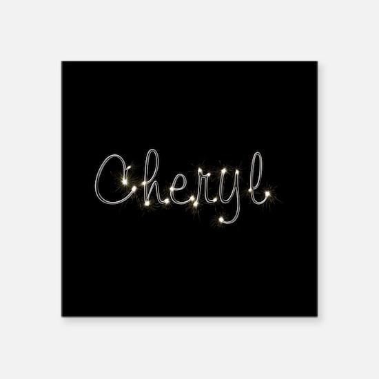 """Cheryl Spark Square Sticker 3"""" x 3"""""""