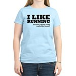 I Like Running and Dessert Women's Light T-Shirt