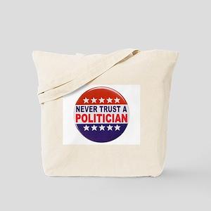 POLITICIAN BUTTON Tote Bag