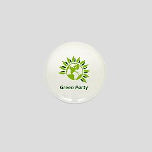 Green Party Mini Button