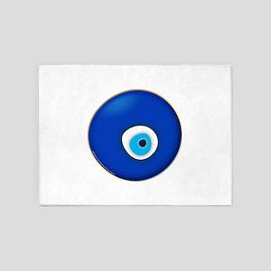 Evil Eye 5'x7'Area Rug