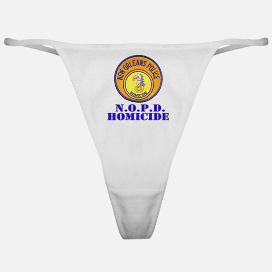 NOPD Homicide Classic Thong