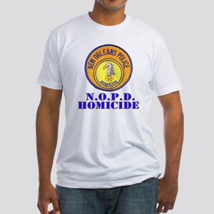 NOPD Homicide Fitted T-Shirt