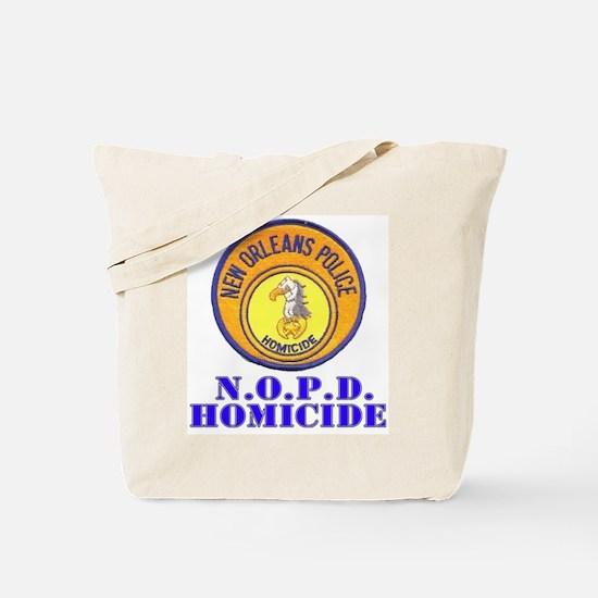 NOPD Homicide Tote Bag