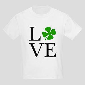 Shamrock Love Kids Light T-Shirt