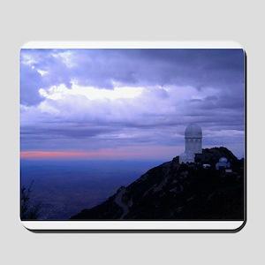 4 Meter Telescope on Kitt Peak at sunset. Mousepad
