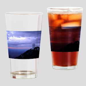 4 Meter Telescope on Kitt Peak at sunset. Drinking