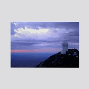 4 Meter Telescope on Kitt Peak at sunset. Rectangl