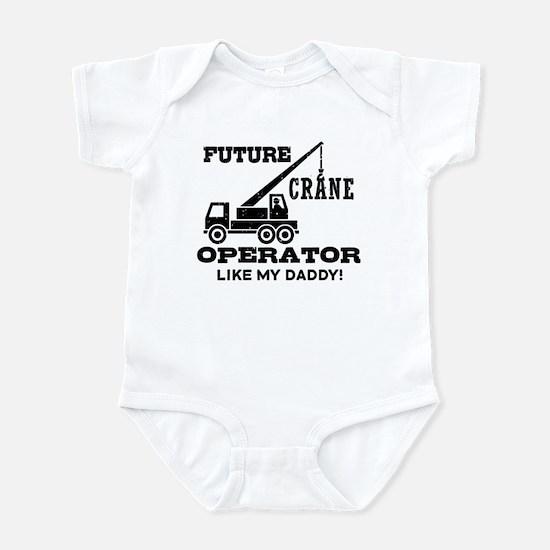 Future Crane Operator Infant Bodysuit