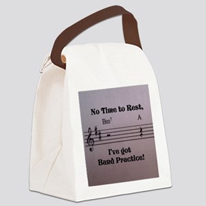No Time to Rest Canvas Lunch Bag