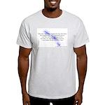 LaLa's Faery Beginnings Ash Grey T-Shirt