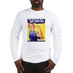 No Burqas Rosie Riveter Long Sleeve T-Shirt