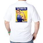 No Burqas Rosie Riveter Golf Shirt