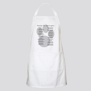 Recipe for Springers BBQ Apron