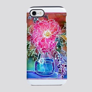 Peony! Floral art! iPhone 7 Tough Case