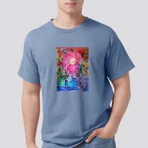 Peony! Floral art! Mens Comfort Colors Shirt