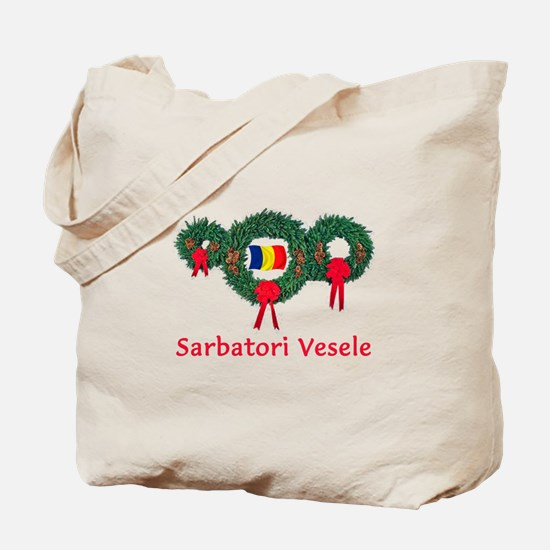 Romania Christmas 2 Tote Bag