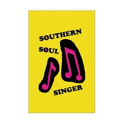 W11 Posters: Southern Soul Singer