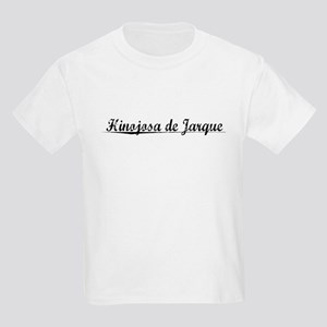 Hinojosa de Jarque, Aged, Kids Light T-Shirt