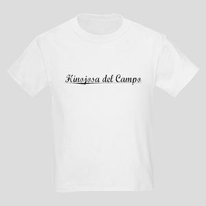 Hinojosa del Campo, Aged, Kids Light T-Shirt