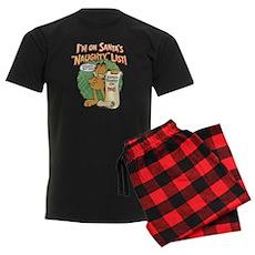 """Santa's Naughty List"" Men's Dark Pajama"