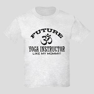Future Yoga Instructor Kids Light T-Shirt