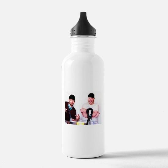 BS & Beanie iTunes Logo Water Bottle