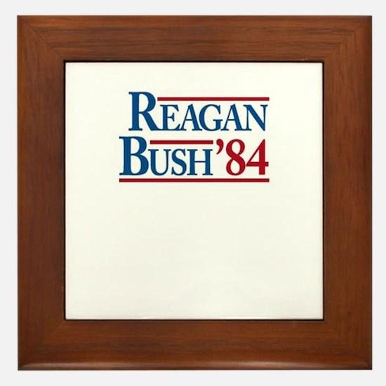 ReaganBush84 Framed Tile