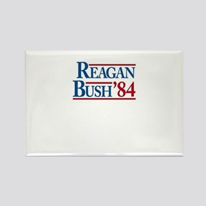 ReaganBush84 Rectangle Magnet