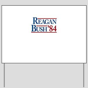 ReaganBush84 Yard Sign