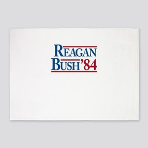ReaganBush84 5'x7'Area Rug
