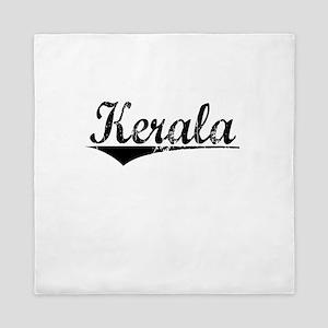 Kerala, Aged, Queen Duvet