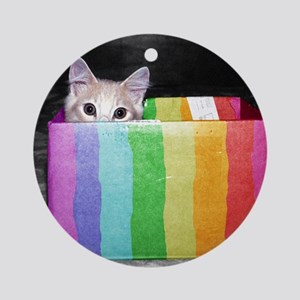 pictures with pride Ornament (Round)