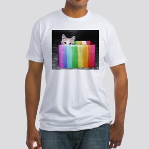 pictures with pride Fitted T-Shirt