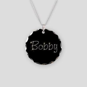 Bobby Spark Necklace Circle Charm