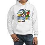 Dolphin Beach Hooded Sweatshirt