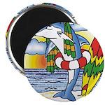 Dolphin Beach Magnet