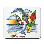 Dolphin Beach Mousepad