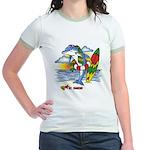 Dolphin Beach Jr. Ringer T-Shirt