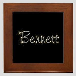 Bennett Spark Framed Tile