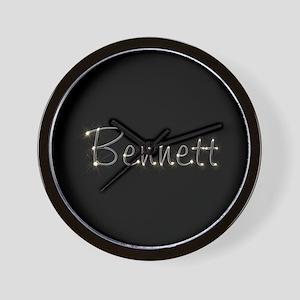 Bennett Spark Wall Clock