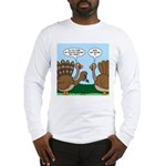Turkey Peacock Disguise Long Sleeve T-Shirt