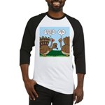 Turkey Peacock Disguise Baseball Jersey