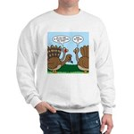 Turkey Peacock Disguise Sweatshirt