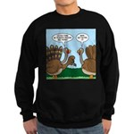Turkey Peacock Disguise Sweatshirt (dark)